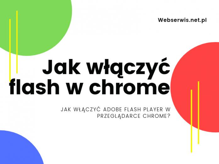 Jak włączyć Adobe Flash Player w przeglądarce Chrome?